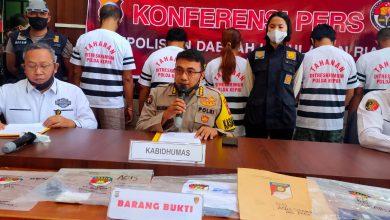 Photo of Lima Tersangka Tindak Pidana Perdagangan Orang Berhasil Diamankan Dit Reskrimum Polda Kepri