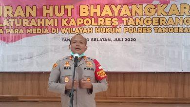 Photo of Gelar Silaturahmi dan Syukuran HUT Bhayangkara Ke 74, Kapolres Tangsel Ajak Media Jalin Komunikasi Dengan Baik