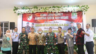Photo of Lepas Sambut Komandan Kodim 0507 Kota Bekasi
