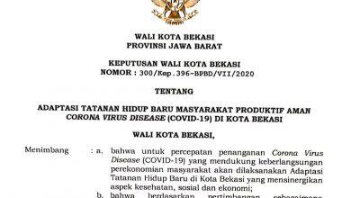 Photo of Kota Bekasi Berlakukan Adaptasi Tatanan Hidup Baru