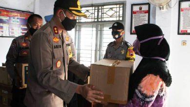 Photo of Polres Pekalongan Distribusikan 240 Paket Sembako dari Kemenparekraf