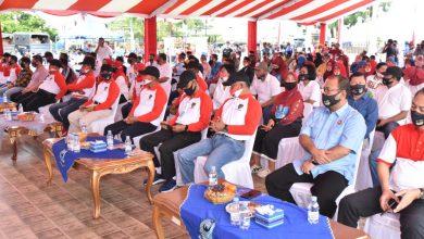 Photo of Kapolda Kepri Hadiri Baksos Donor Darah dan Pembagian Sembako Oleh Alumni AKABRI 88/W84