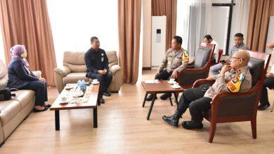 Photo of Kapolda Kepri Terima Kunjungan Audiensi dari Kepala BPOM Kota Batam