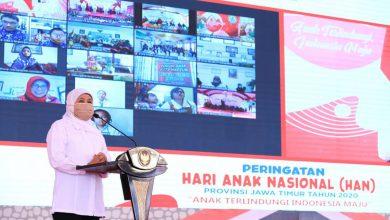 Photo of Peringatan HAN 2020, Gubernur Khofifah Ajak Kades Sediakan Akses Internet untuk Media Pembelajaran Anak