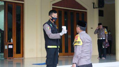 Photo of Terapkan Protokol Kesehatan, Polda Banten Gelar Sholat Idul Adha