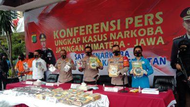 Photo of Polisi Mengungkap Jaringan Narkotika Lintas Sumatra-Jawa