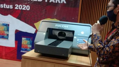 """Photo of Dukung Program """"Indonesia World Park"""", RICOH Launching T-shirt Campaign"""
