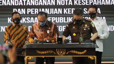 Photo of Jalin Sinergitas, Jaksa Agung RI Teken Nota Kesepahaman dengan Menteri Dalam Negeri