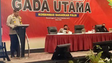 Photo of Wakapolda Riau Membuka Pendidikan dan Pelatihan Gada Utama di Hotel Pangeran