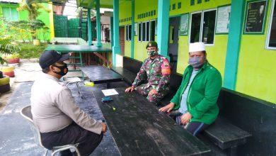 Photo of Sertu Adang Sutiawan Anjangsana ke Pondok Pesantren Ya Husnaya Sei Temiang