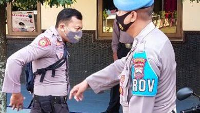 Photo of Propam Polres Pekalongan Laksanakan Pendisiplinan Pemakaian Masker