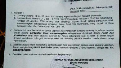 Photo of Polisi Harus Berani Memproses Oknum Anggota Dewan yang Diduga Bermental Preman