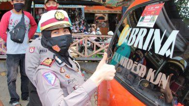 Photo of Sat Lantas Polres Pekalongan Ajak Masyarakat Disiplin Pakai Masker