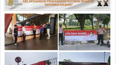 "Photo of Ajak Masyarakat ""Ayo Pakai Masker"", Polresta Bandara Soetta Pasang Ratusan Spanduk"