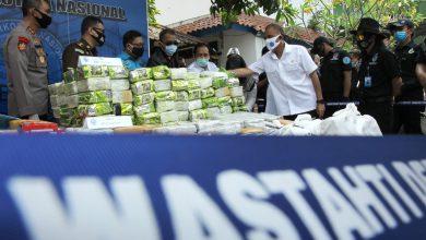 Photo of BNN Musnahkan 238 Kg Sabu dan 404 Kg Ganja