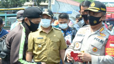 Photo of Ribuan Masker Kembali Disebar Polisi di Kota Tangerang