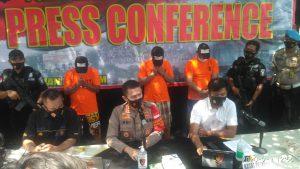 Team Garuda Polresta Bandara Soetta Ungkap Kasus Pencurian di Sertai Kekerasan Modus Bius