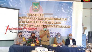 Photo of Serda Zulhamsyah Hadiri Pelatihan Pencegahan dan Pengendalian Covid-19