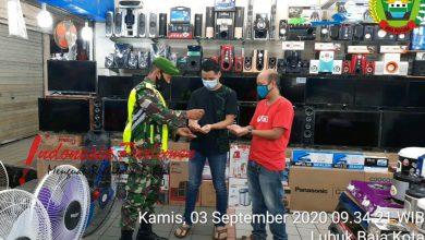 Photo of Babinsa Kodim 0316/Batam Gencar Lakukan Monitoring Penerapan Protokol Kesehatan