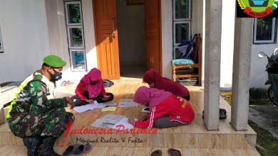 Photo of Koptu Roni Sitorus Sosialisasikan Adanya Fasilitas WiFi di Kantor Koramil 05/BLP Bagi Pelajar