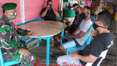 Photo of Serda L. Nduru Gelar Komsos Bersama Ketua RW Pulau Selat Desa