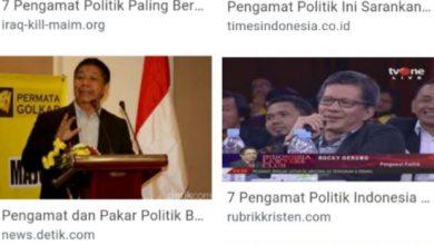 Photo of Riset P3S : Daftar Top 10 Pengamat Politik Indonesia