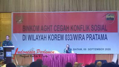 Photo of Cegah Konflik Sosial, Korem 033/WP Gelar Binkom AGHT Bersama Komponen Masyarakat Kepri