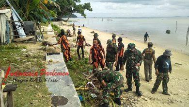 Photo of Kodim 0316/Batam Gelar Goro di Sepanjang Alur Pantai Kampung Teluk Mata Ikan