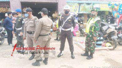 Photo of Personel Kodim 0316/Batam Ikuti Patroli Gabungan Penerapan Protokol Kesehatan