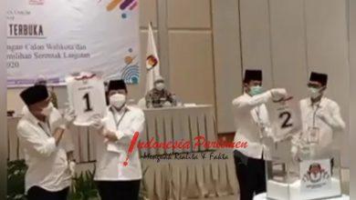 Photo of KPUD Kota Batam Gelar Rapat Pleno Terbuka Pencabutan Nomor Urut Cawako dan Cawawako