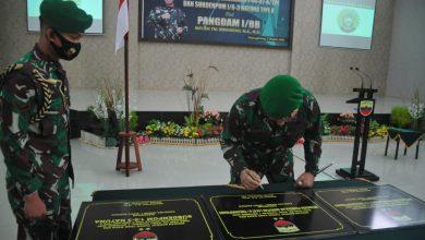 Photo of Peresmian Satuan Baru di Jajaran Korem 033/WP Dipimpin Oleh Pangdam I/BB