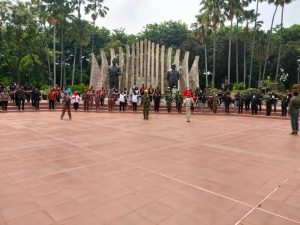 Ormas se DKI Jakarta Deklarasi Damai di Tugu Proklamasi