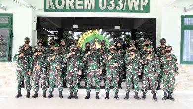 Photo of Kasdam I/BB Gelar Kunker Perdana di Korem 033/WP