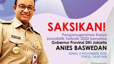 Photo of Anies Baswedan akan Hadir dalam Penghargaan Virtual Anugerah Jurnalistik MHT 2020