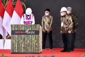 Presiden Jokowi Resmikan Pabrik Gula di Bombana