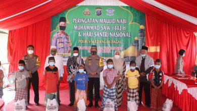 Photo of Peringati Maulid Nabi Muhammad SAW & Hari Santri, Polres Sergai Gelar Baksos