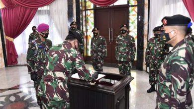 Photo of Panglima TNI Pimpin Sertijab Kasum, Kabais, dan Dandenma