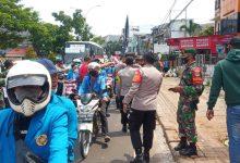 Photo of Antisipasi Aksi Demo Mahasiswa, TNI-Polri Gelar Pengamanan di Wilkum Polsek Ciputat Timur