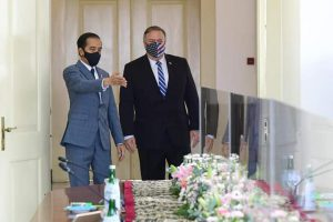 Presiden Terima Kunjungan Menlu AS Mike Pompeo di Istana Bogor