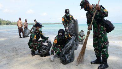 Photo of Taruna dan Taruni AAL Angkatan LXVII Gelar Aksi Bersih – Bersih Pantai dan Tanam Mangrove