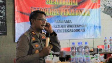 Photo of Kapolres Pekalongan Jalin Silaturahmi Dengan Rekan-Rekan Media