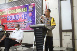 Polres Sergai Rakor Protkes, AKBP Robin Simatupang; ASN, TNI/Polri harus menjadi contoh Masyarakat