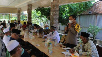 Photo of Kapolres Sergai Silahturahmi bersama Tokoh Lintas Agama MUI Kab Sergai