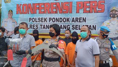 Photo of Empat Pelaku Pengeroyokan Gadis Remaja di Bintaro, Diamankan Polisi
