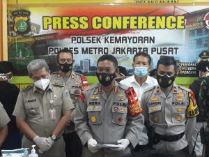 Tak Butuh Lama Polisi Meringkus Pelaku Tawuran di Kemayoran