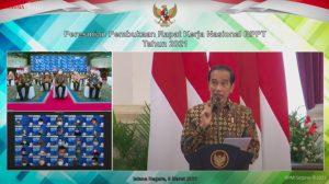 Rakernas BPPT,  Jokowi Canangkan Kedaulatan Teknologi Bangsa