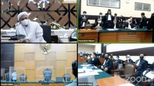 Sidang Pertama Rizieq Diwarnai Aksi Protes Dari Penasihat Hukum