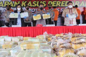 Polri Gagalkan Penyelundupan 2,5 Ton Narkoba Jaringan Timur Tengah-Malaysia