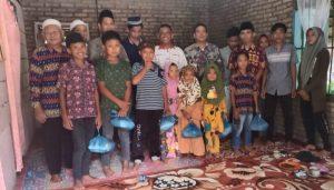 Sambut Bulan Ramadhan 1442 H, Redaksi Mitra Simalungun Santuni Anak Yatim