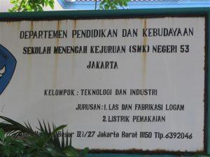 Mantan Kepala Sekolah SMKN 53 Jakbar Gelapkan BOP Rp3,9 Miliar